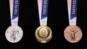 Le medaglie delle Olimpiadi di Tokyo 2020